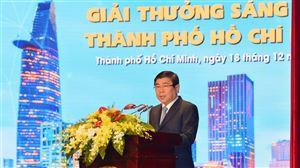 Ban hành quy chế xét tặng Giải thưởng Sáng tạo thành phố Hồ Chí Minh