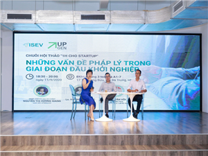 """Hội thảo: """"1H cho startup – Những vấn đề pháp lý trong giai đoạn đầu khởi nghiệp"""""""