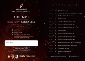 Vòng bán kết khu vực 1 - Cuộc thi khởi nghiệp VietChallenge 2019