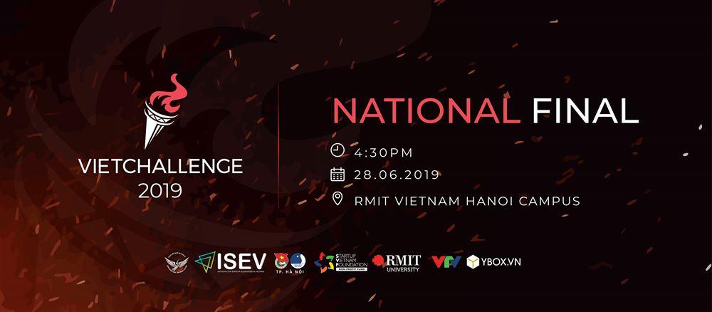 Vòng National Round của cuộc thi khởi nghiệp VietChallenge 2019