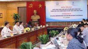 Việt Nam có chỉ số đổi mới sáng tạo vượt trên tầm mức phát triển