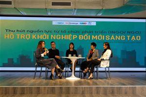 Thu hút nguồn lực từ tổ chức phát triển (INGO/NGO) hỗ trợ khởi nghiệp đổi mới sáng tạo