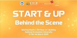 """Cơ hội nhận ngay 20.000$ cho các Startup trong Chương trình """"Start & Up - Behind the Scene"""""""