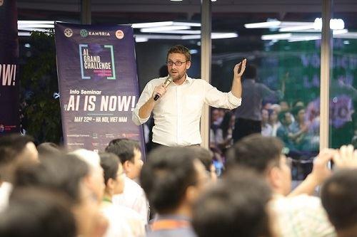 Ngày hội Trí tuệ nhân tạo quy tụ hàng trăm tài năng AI Việt