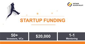 VSV Accelerator tìm kiếm startup để đầu tư $20,000