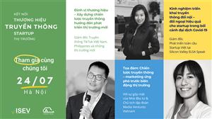 Hội thảo Chiến lược truyền thông của Startup: Định vị thương hiệu – phát triển thị trường