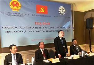 Cộng đồng trí thức, doanh nhân Việt Nam ở nước ngoài - nguồn lực quan trọng góp phần phát triển đất nước
