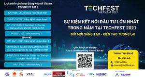 Kết nối đầu tư tại TECHFEST VIETNAM 2021