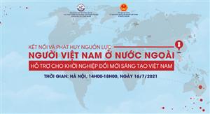 """Hội thảo """"Kết nối và phát huy nguồn lực người Việt Nam ở nước ngoài hỗ trợ cho khởi nghiệp đổi mới sáng tạo Việt Nam"""""""