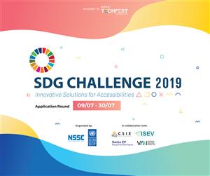 Khởi động cuộc thi SDG Challenge 2019: Tìm kiếm giải pháp khởi nghiệp cải thiện tiếp cận cho người khuyết tật