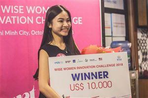 Giải pháp vận tải sử dụng AI chiến thắng tại cuộc thi Phụ Nữ Khởi Nghiệp