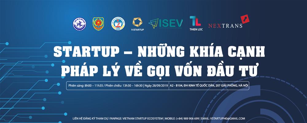 Hội thảo Startup - Những khía cạnh pháp lý về gọi vốn đầu tư