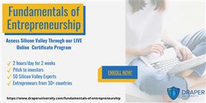 Khoá học: Nền tảng cơ bản về khởi nghiệp từ  Drapper University