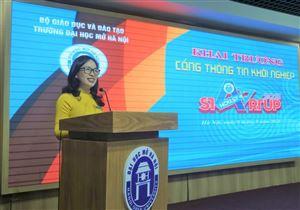Đại học Mở Hà Nội ra mắt Cổng thông tin khởi nghiệp
