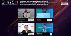 Việt Nam – Singapore: Thúc đẩy hợp tác phát triển khởi nghiệp sáng tạo giữa khu vực tư nhân và trường đại học